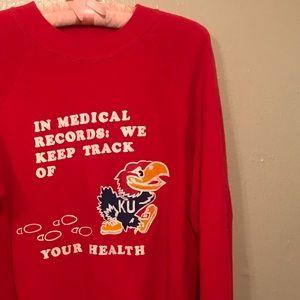 vintage University of Kansas sweatshirt